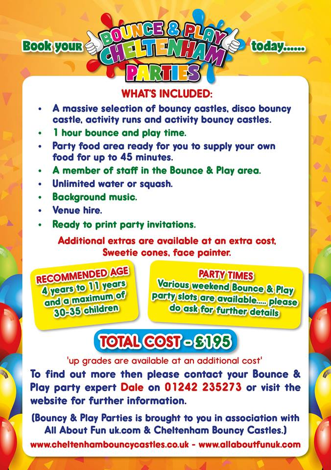 Bounce & Play Parties - Bouncy Castle Hire, Soft Play Hire, Rodeo ...